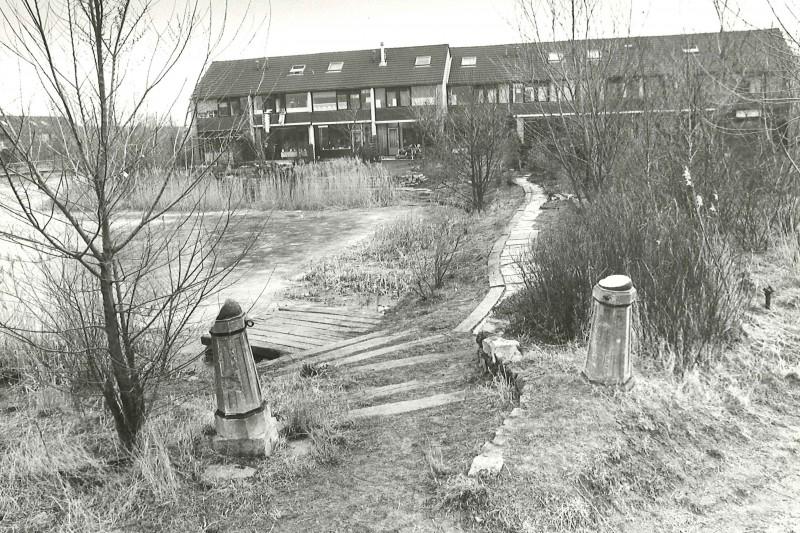 Scan archieffoto NvhN. Groningen. Lewenborg Le Roy gebied.